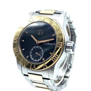 CORUM Romulus Large date Men's Wristwatch K18 Pink Gold 812.515.24 V810 BN76
