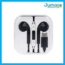 Écouteurs Oreillette embout USB type C Kit piéton de couleur noir pour HTC U11