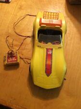 Vintage 1979 Barbie Super 'Vette Corvette Remote Control Yellow GS1