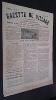 Revista Gaceta de La Aldea N º 12 Journal Republicano 25Mars1906 ABE