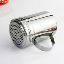 Stainless Steel Spice Sugar Salt Pepper Shaker Seasoning Cans Cruet Container
