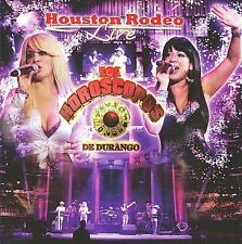 Houston Rodeo Live by Los Horóscopos de Durango ( CD + DVD, 2 Disc Set )