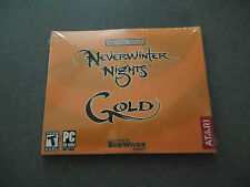 Neverwinter Nights: Gold  PC Game Disks Only - No Codes Included