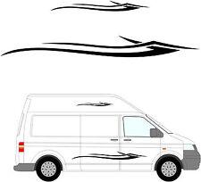 152 - Van Aménagé Graphique, Camping-car Vinyle Kit Décalques / Autocollants