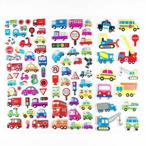 1PCS Children Cartoon Bubble Stickers 3D Motivational Stickers Toys