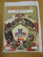 05/10/1991 York City v Scarborough  (Excellent Condition)