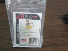 Lot of 3 NEW Pro-Mold PC13 1-Screw Trading Card Holders with Built-In Stand