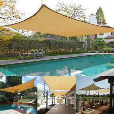 2x1.8M Sun Shade Sail Garden Patio Sunscreen Awning Canopy Shelter Waterproof