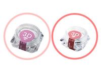 Pre-made Russian Lashes WINK 3D Premade Volume Lash Fans Eyelash Extensions Pot