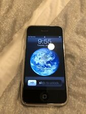 Apple iPhone 1st Generation 2G 16GB Black A1203 GSM Works FS NR