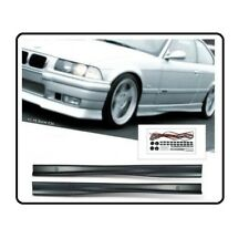 2 BAS DE CAISSE M3 POUR BMW SERIE 3 E36 BERLINE COUPE CABRIOLET ET COMPACT