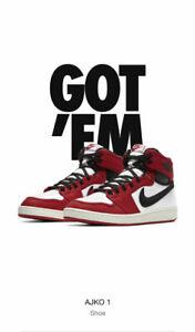 Brand New Air Jordan 1 KO AJKO High OG Chicago SIZE 10 DA9089-100