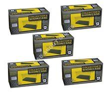 5 x MODEL DISPLAY ACRYLIC BOXES 1:43 Plastic Box Lot Diecast Model Car Show Case