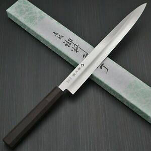 Japanese Tojiro MV Steel Sashimi Yanagiba Knife 270mm Elastomer Handle Japan