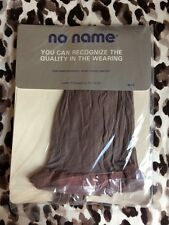 TIGHTS PANTY HOSE Cotton Shield Panty 'n Toe GREY FLANNEL Small NEW VINTAGE