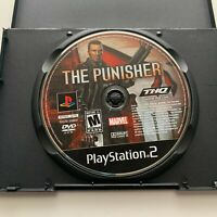 The Punisher (PlayStation 2, PS2) Marvel *Game Disc Only*