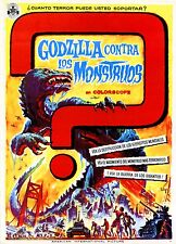 Mosura tai Gojira (Godzilla Against Mothra)1964  PRESS BOOK BROCHURE ORIGINAL