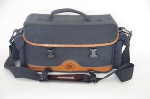 Fotima Black Fabric Camera Bag