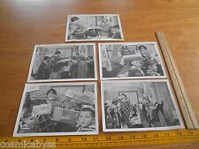 "1960's Boy Scouts Revell models TV giveaway lot of 5 photos 5x7"" VINTAGE"