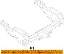 FORD OEM F-250 Super Duty Trailer Hitch-Rear Bumper-Trailer Hitch HC3Z17D826A