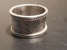 Silver  Ring  VINTAGE  1970's  80's  marked 925