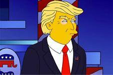 Donald Trump In The Simpsons FRIDGE MAGNET (2 x 3 inches)(AB)