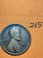 1914-S LINCOLN WHEAT CENT, rare date, #265