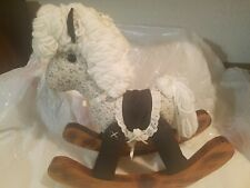 Handcrafted Rocking Horse, Solid Wood
