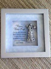 Blessed Baby Angel Picture Frame Framed Miniature Art Us Seller Free Shipping