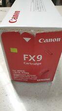 Genuine Canon FX9 Black Toner imageCLASS MF4000 FAX-L100 Series New See Pics