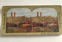1906 San Francisco United States Mint  Fire Earthquake Series Stereoview No. 301