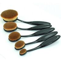1/10 PIEZAS Set Cepillo de dientes Estilo Brocha Para Maquillaje Ceja Base