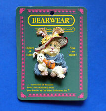 Boyds PIN Easter Vintage BUNNY Momma RABBIT Baby Hopkins McHare Holiday NEW