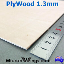 Plywood Sheet 1.3mm Thin Marine Hobby Ply Plywood
