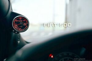A Pillar Gauge Pod, 52mm or 60mm, fits Fiat 500【TG-tech Auto】