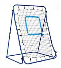 Hathaway Carom Baseball Pitching Rebound Net Adjustable Steel Frame Storage Bag
