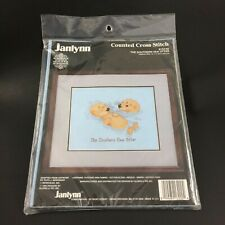 Sea Otter Counted Cross Stitch Kit 132-02 Janlynn Vintage Sealed Gloria Pat
