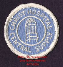 """LMH PATCH Badge  CHRIST HOSPITAL Medical Center  CENTRAL SUPPLY Old Logo 2.3"""""""