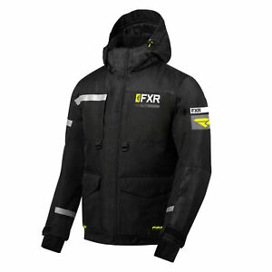 FXR Excursion Ice Pro Jacket Insulated Fleece Lining Snowproof Snowmobile Coat