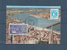 carte  1er jour   centenaire de l'émission de  Bordeaux     1970