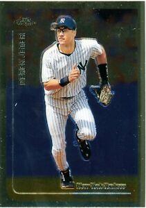 DEREK JETER 1999 TOPPS CHROME #85 NEW YORK YANKEES