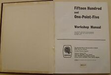 Riley 1.5 One-Point-Five & Wolseley 1500 BMC Workshop Manual 1967 Pub. AKD4095A