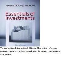 New* Essentials of Investments 9E,  Zvi Bodie, Alex Kane, Alan Marcus
