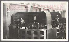 Vintage Snapshot Photo Electrician Working on Dam Electric Generator 695939