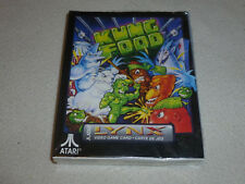 BRAND NEW IN BOX FACTORY SEALED ATARI LYNX VIDEO GAME KUNG FOOD