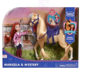 DreamWorks Spirit Riding Free Collector Doll & Horse Maricela & Mystery New