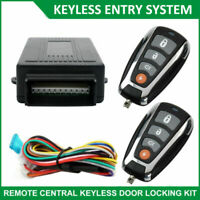 Car Remote Control Central Lock Auto Locking Kit Security Keyless Entry System