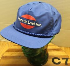 VINTAGE PETERS-DE LAET INC HAT BLUE STRAPBACK ADJUSTABLE VERY GOOD CONDITION C7