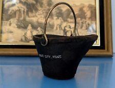 Vintage Miniature Coal Pail Miles City Montana Collectible Display Souvenir