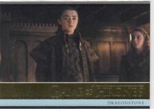 GAME OF THRONES SEASON 7 - GOLD PARALLEL BASE CARD 1 (100/150)